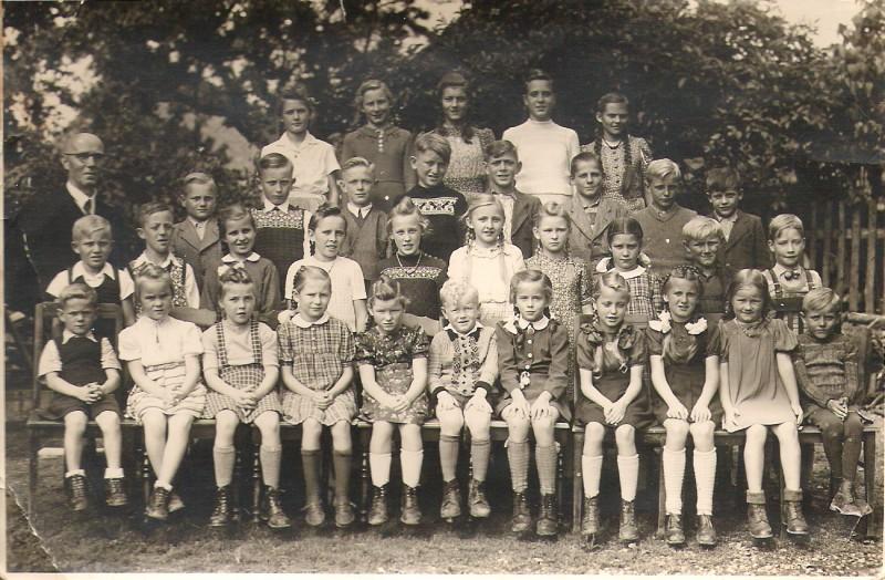 Rasdorfer Schulklasse 1950