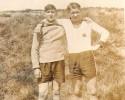 Die Freunde Karl Wagner und Fritz Thiel