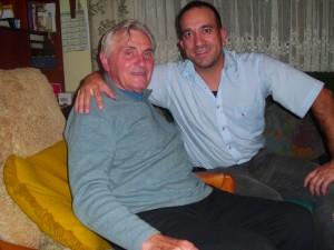 Im Gespräch: Martin Pforr und Vorsitzende Michael Tann
